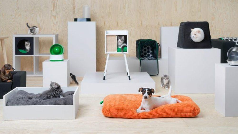 La colección 'Lurving' de Ikea, una línea de muebles ideada para mascotas