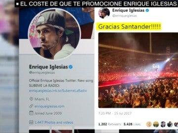 Twitter de Enrique Iglesias