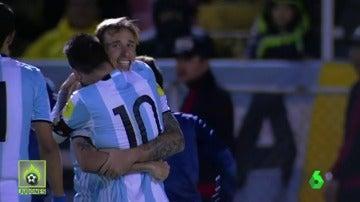 MESSI RETRATA A LA PRENSA ARGENTINA