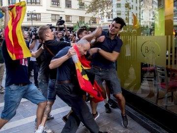 Agresión de un grupo de ultraderechistas en Valencia