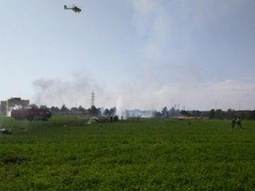 Accidente del Eurofighter