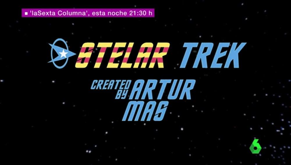 """""""Stelar trek"""": la interpretación cósmica de laSexta columna sobre el conflicto catalán."""