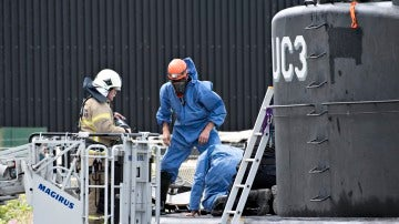 La policía investiga el submarino de Madsen donde estuvo la periodista Kim Wall