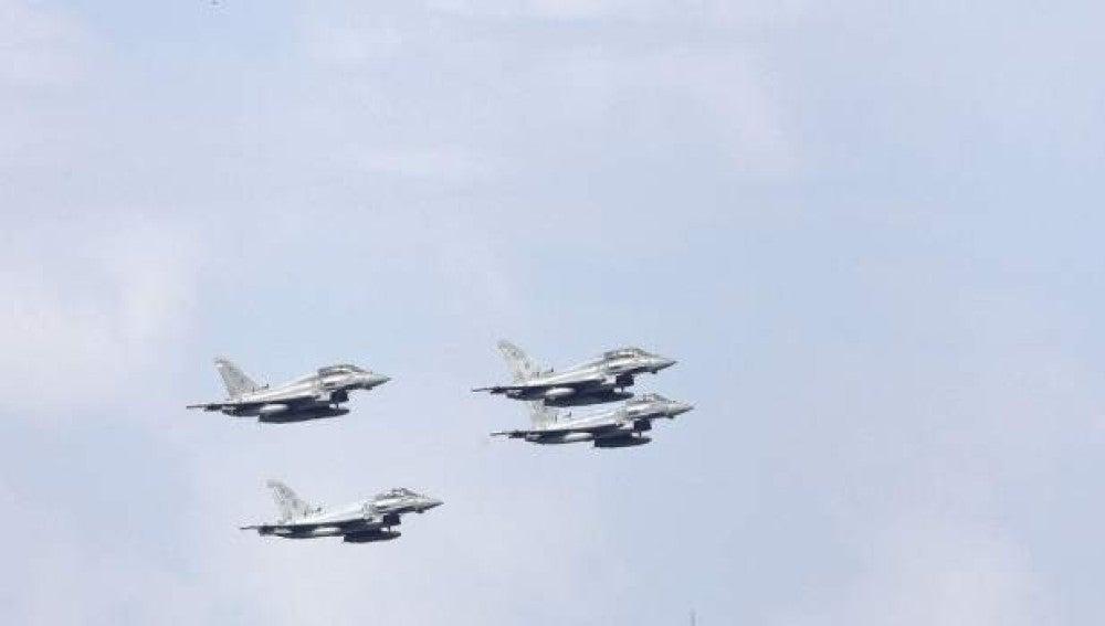 Fotografía facilitada por el Ministerio de Defensa