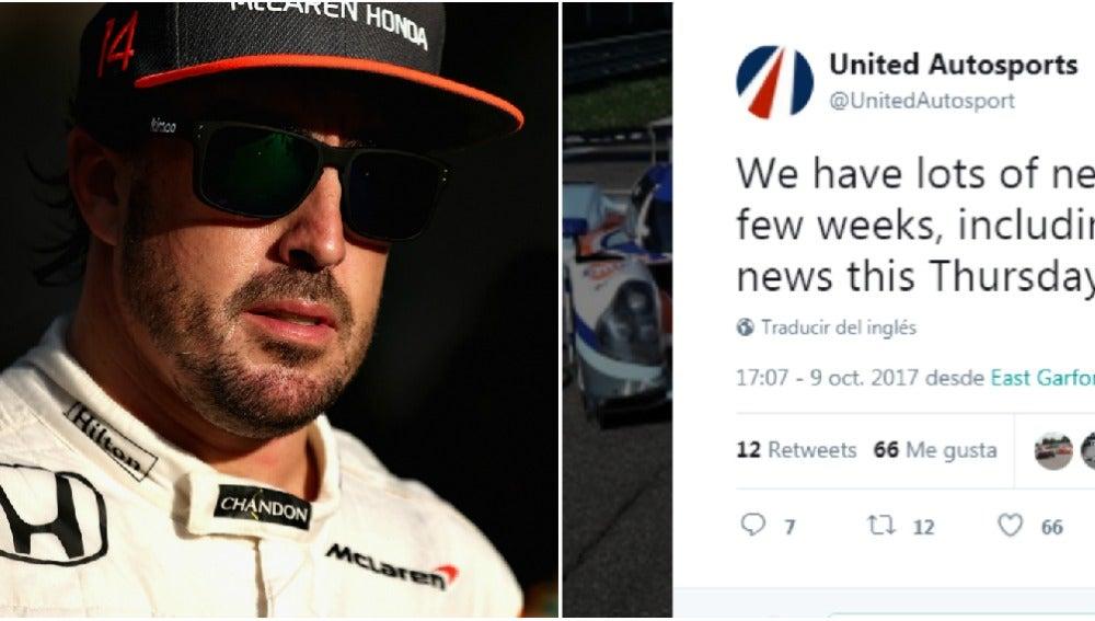 El misterioso tuit ¿sobre Alonso?