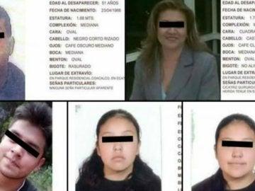Imágenes de la familia hallada muerta en su casa en México