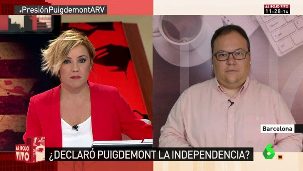 El subdirector de 'NacióDigital', Ferran Casas