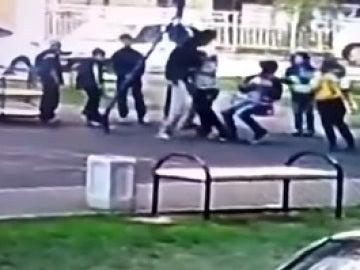 Un padre golpea a un niño en Krasnodar