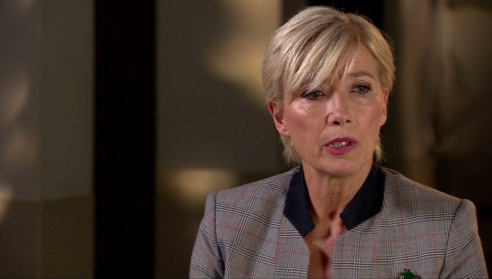 La actriz Emma Thompson