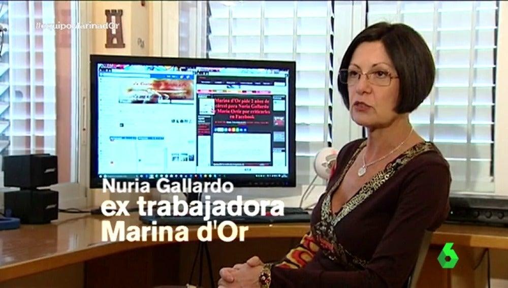 """Nuria, una extrabajadora de Marina D´Or demandada por criticarles en Facebook: """"El día 13 de contrato me bajaron el sueldo 200 euros"""""""