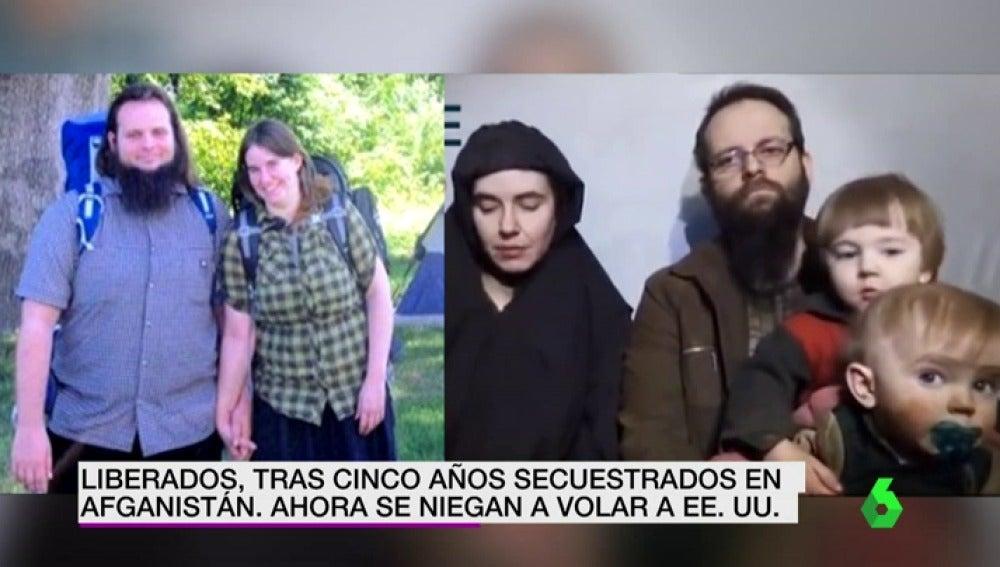 Un americano se niega a volver a Estados Unidos tras pasar cinco años secuestrado por los talibanes