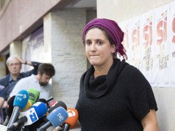 Nuria Gibert, Portavoz del secretariado nacional de CUP