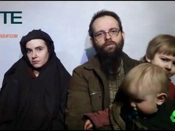 La familia Boyle, secuestrados durante cinco años por los talibanes