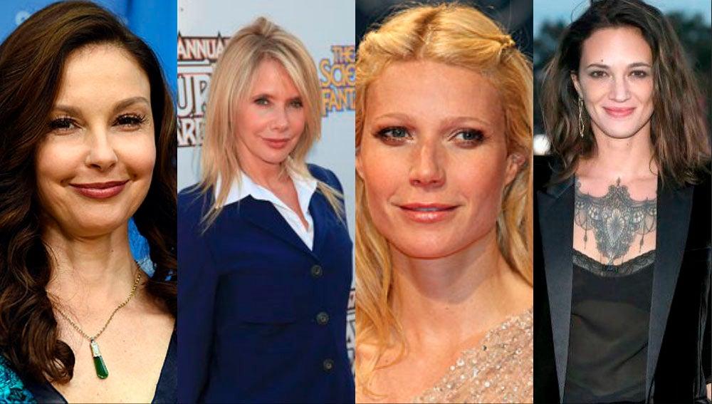 Ashley Judd, Rosanna Arquette o Gwyneth Paltrow fueron algunas de las víctimas de Harvey Weinstein