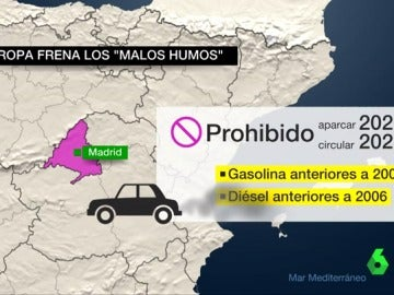 El plan para rebajar la contaminación del aire en Madrid