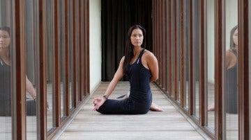 Empieza el día practicando yoga