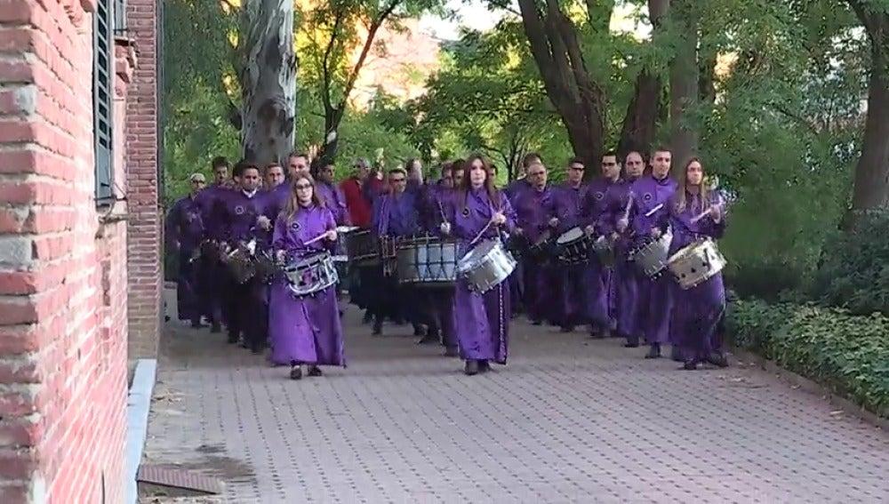 Los tambores de Calanda suenan en la Residencia de Estudiantes