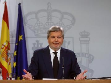 El portavoz del Gobierno, Íñigo Ménez de Vigo