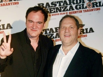 Tarantino y Harvey Weinstein