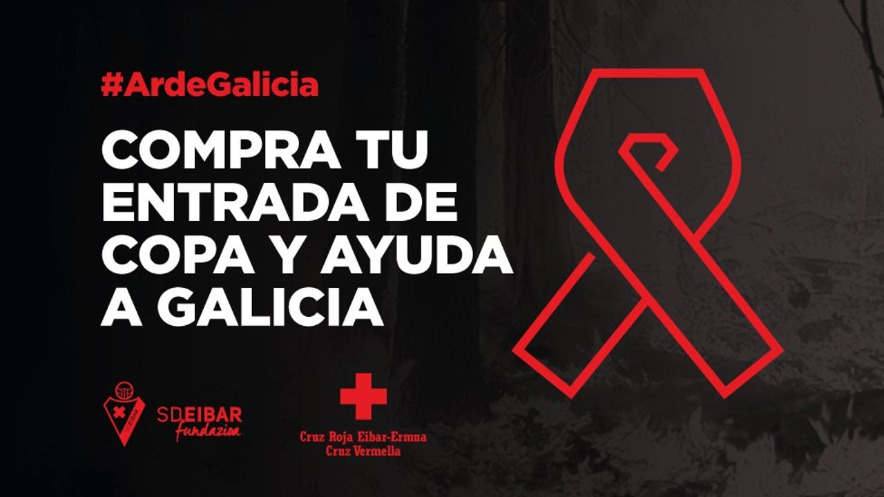El Eibar anuncia que ayudará a Galicia