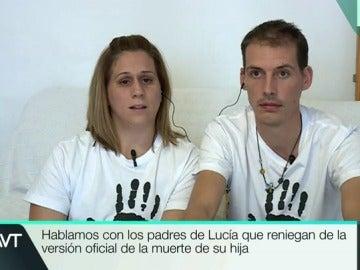 Almudena y Antonio, los padres de Lucía Vivar