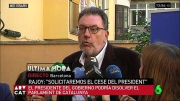 Josep Lluís Cleries, portavoz del PDeCat en el Senado