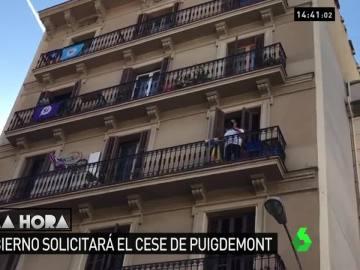 Caceroladas en Barcelona por la aplicación del 155