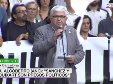 El vicepresidente de ANC Agusti Alcoberro