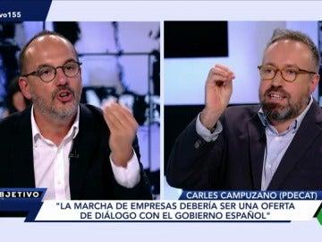 Carles Campuzano y Juan Carlos Girauta