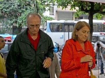 El hermano y la cuñada de la turista española muerta a tiros por la Policía en Brasil
