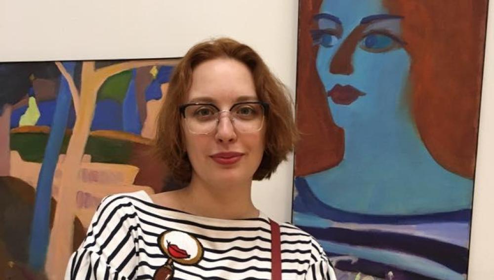 La periodista Tatiana Felgenhauer