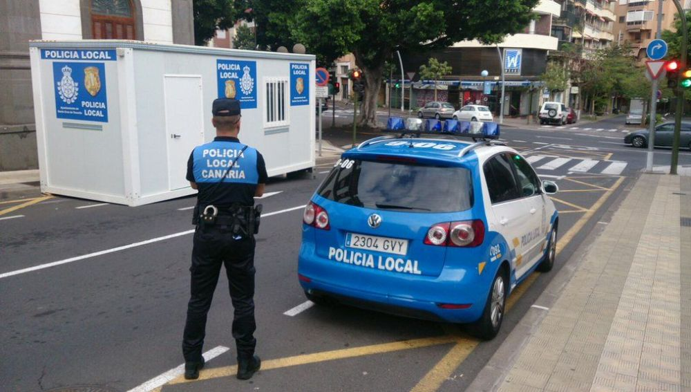Afbeeldingsresultaat voor policia local tenerife