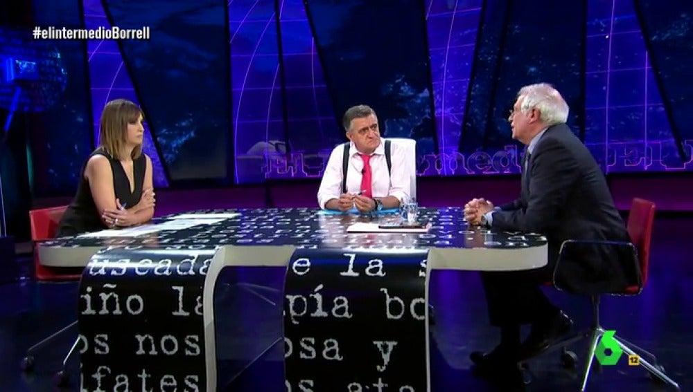 Josep Borrell en El Intermedio