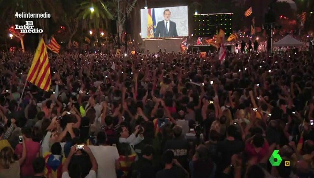 Mariano Rajoy declara la independencia en Cataluña