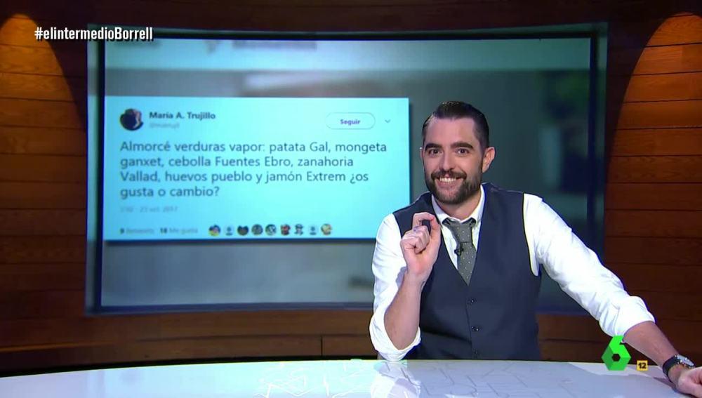 Dani Mateo, en El Intermedio