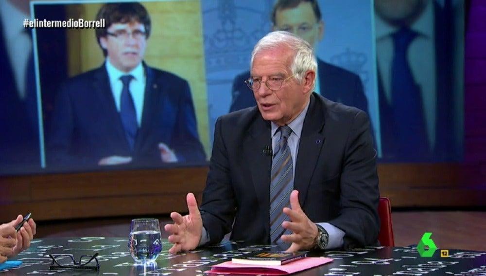 """La petición de Borrell a España: """"Terminad con el boicot a los productos catalanes, los pequeños empresarios dicen que van a la ruina"""""""