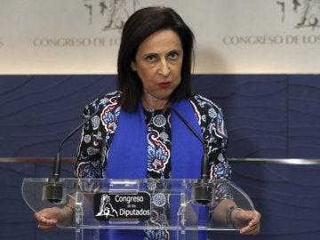 La portavoz socialista, Margarita Robles
