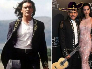 Dani Alves, a lo Antonio Banderas en 'El Mariachi' en la gala de los premios 'The Best'