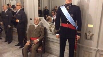 Franco y el rey Juan Carlos I
