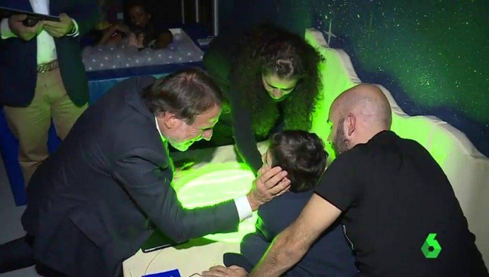 Atresmedia y la Fundación Lumen inauguran una sala de estimulación multisensorial para niños con parálisis cerebral