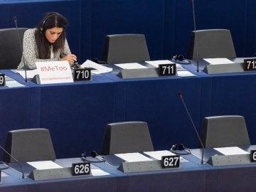 La miembro del Parlamento Europeo Pina Picierno, del grupo Alianza Progresista de Socialistas y Demócratas