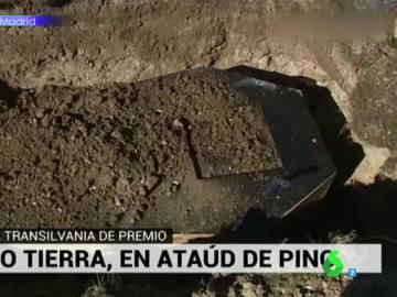 El surrealista momento en el que José Antonio Masegosa es enterrado vivo