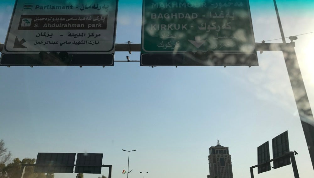 Dirección Erbil (Irak)