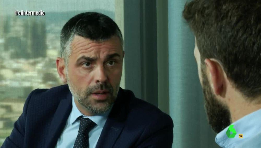Santi Vila habla con Gonzo