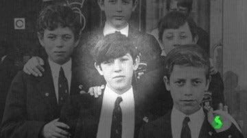 Carlos, el atracador de Cangas de Onís cuando era niño