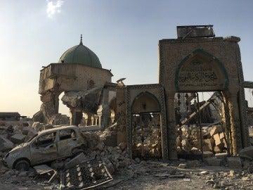 Daesh destruyó la Gran Mezquita de al Nuri, gran símbolo de Mosul