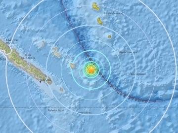 Onda sísmica producida por los sismos