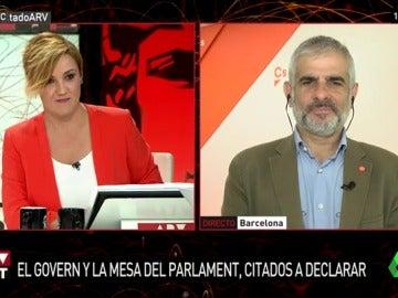 Carlos Carrizosa, portavoz de Ciudadanos en el Parlament