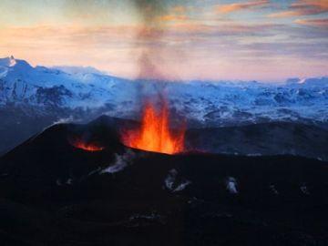 El volcán más grande de Europa
