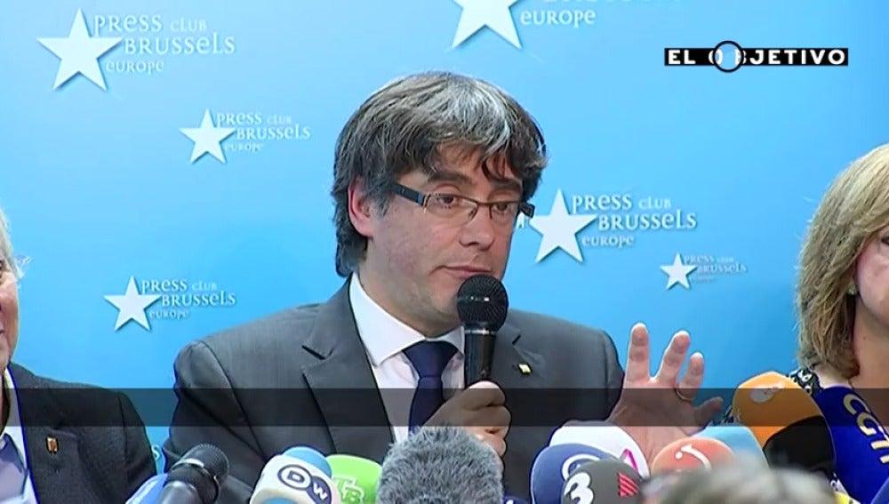"""Puigdemont: """"El programa de Junts pel Sí fue el que tuvo el apoyo más alto en la historia de unas elecciones en Cataluña"""""""